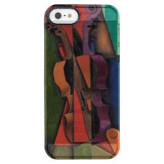 Violon et guitare par Juan Gris Coque iPhone Clear SE/5/5s