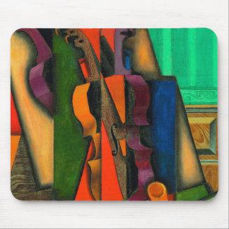 Violon et guitare par Juan Gris Tapis De Souris
