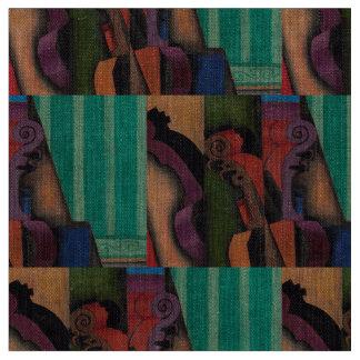 Violon et guitare par Juan Gris Tissu