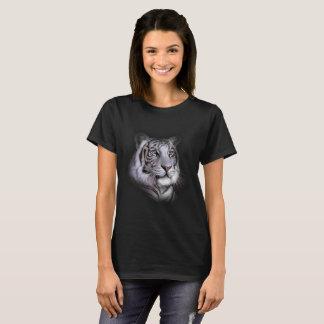 Visage blanc de tigre t-shirt