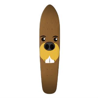 Visage Bucky de castor Skateboard 21,6 Cm