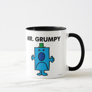 Visage de froncement de sourcils de M. Grumpy   Mug