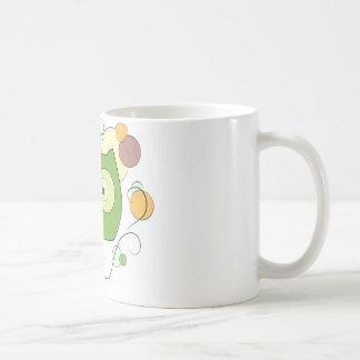 Visage de hibou pour le ressort mug blanc