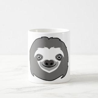 Visage de paresse mug magique