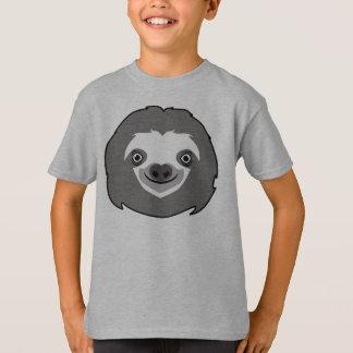 Visage de paresse t-shirt