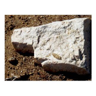 visage de roche carte postale
