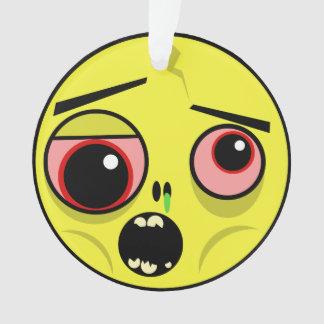 Visage de zombi