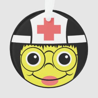 Visage d'infirmière