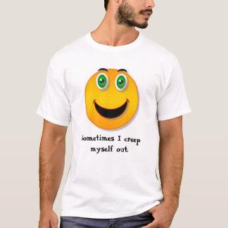 Visage drôle - T-shirt de fluage