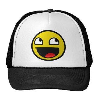 Visage impressionnant ! casquettes