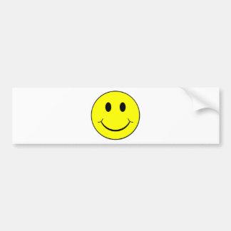 visage souriant autocollants pour voiture