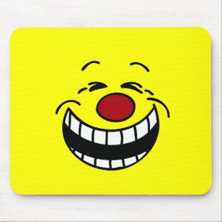 Visage souriant autoritaire Grumpey Tapis De Souris
