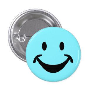 Visage souriant drôle + votre backg. et idées badge rond 2,50 cm