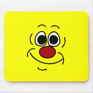 Visage souriant suffisant Grumpey Tapis De Souris