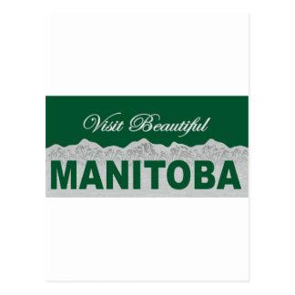 Visite beau Manitoba Carte Postale