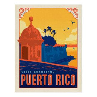 Visite beau Porto Rico Cartes Postales