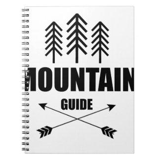 Visite et aventure, guide de montagne carnet