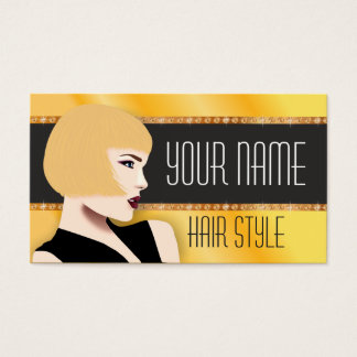 Visitekaartje voor kapper visitekaartjes