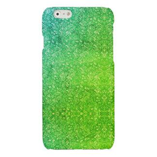 Vitalité colorée lumineuse florale verte au néon
