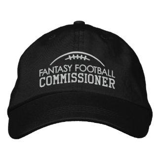 Vitesse de passioné du football d'imaginaire avec casquette brodée
