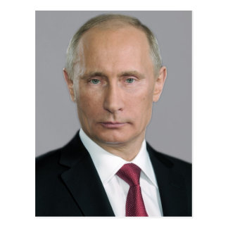 Vitesse de Vladimir Poutine Carte Postale