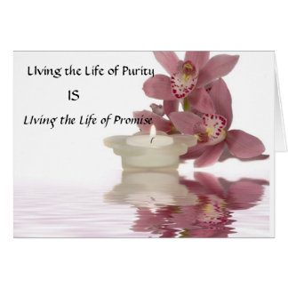 Vivant la vie de la carte de pureté