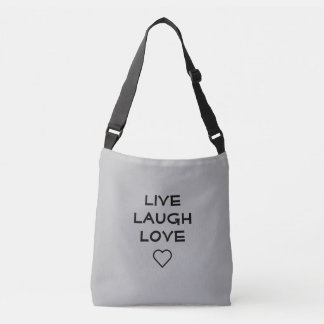 Vivent le sac crossbody d'amour de rire