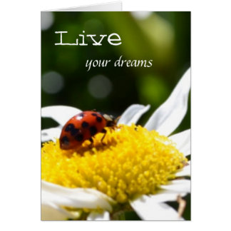 Vivent vos rêves carte de correspondance