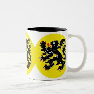 Vlaamse Leeuw van Vlaanderen koffiemok deluxe