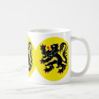 Vlaamse Leeuw van Vlaanderen koffiemok standaard