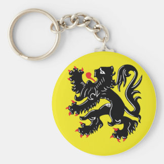 Vlaamse Leeuw van Vlaanderen sleutelhanger