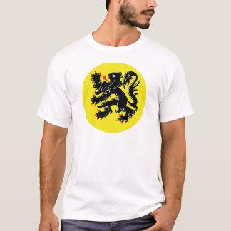 Vlaamse Leeuw van Vlaanderen t-shirt groot insigne
