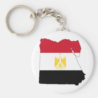 Vlag/Kaart van Egypte Sleutelhanger