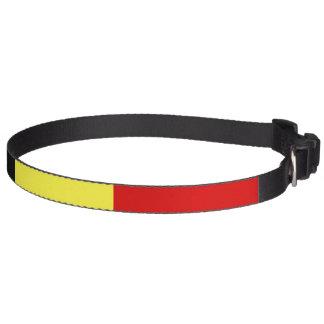 Vlag van België Huisdier Halsbandje