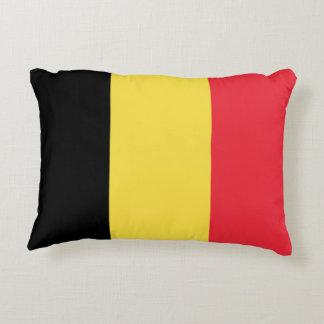 Vlag van de douaneontwerp van België Accent Kussen