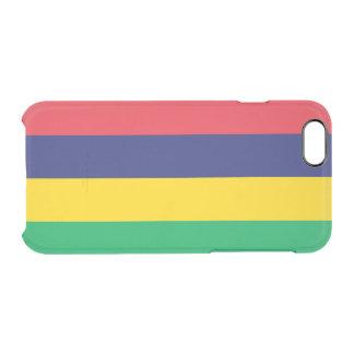Vlag van Duidelijk iPhoneHoesje van Mauritius Doorzichtig iPhone 6/6S Hoesje