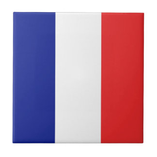 Vlag van Frankrijk Franse Tricolore Tegeltje