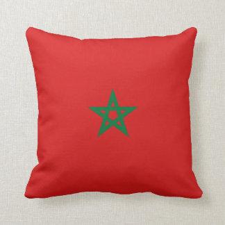 Vlag x van Marokko het Hoofdkussen van de Vlag Sierkussen