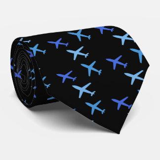 vliegtuig, club stropdas