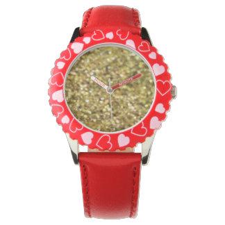 Vloeibaar Gouden (Gouden Verhouding Collectie) Horloge