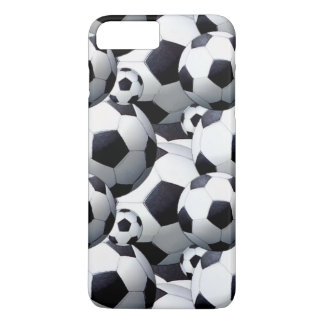 Voetbal iPhone 8 Plus / 7 Plus Hoesje