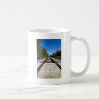Voies de train de chemin de fer mug