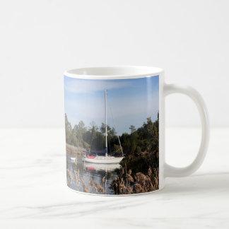 Voile paisible mug blanc