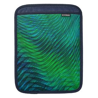 Voile verte housse pour iPad