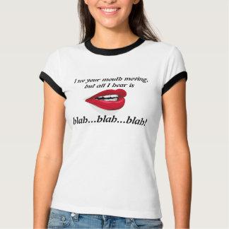 Voir la bouche déplacer Blah - T-shirt fade