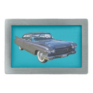 Voiture 1960 de luxe classique de Cadillac Boucle De Ceinture Rectangulaire