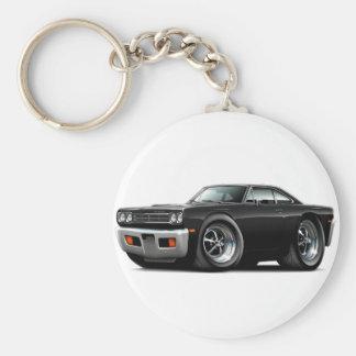 Voiture 1969 noire de Roadrunner Porte-clés