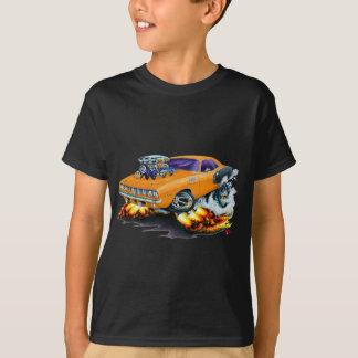 Voiture 1971 d'orange de Hemi Cuda T-shirt