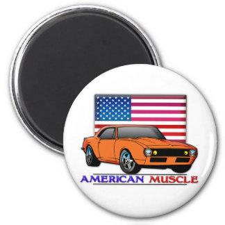 Voiture américaine de muscle magnets