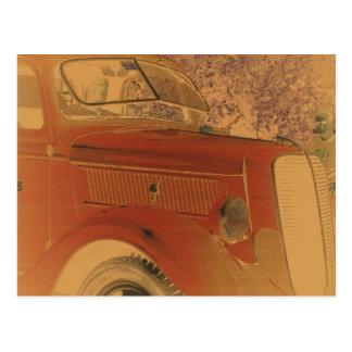 Voiture ancienne cartes postales